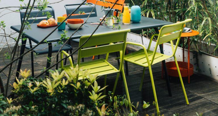 Monceau armchairs, Monceau table, Salsa sidebar