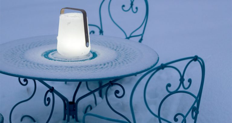 Balad LED lamp 25 cm, 1900 table, 1900 armchairs