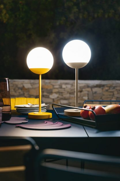 Mooon! lamp in Honey and Nutmeg