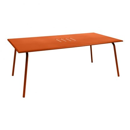 Monceau large table in Carrot