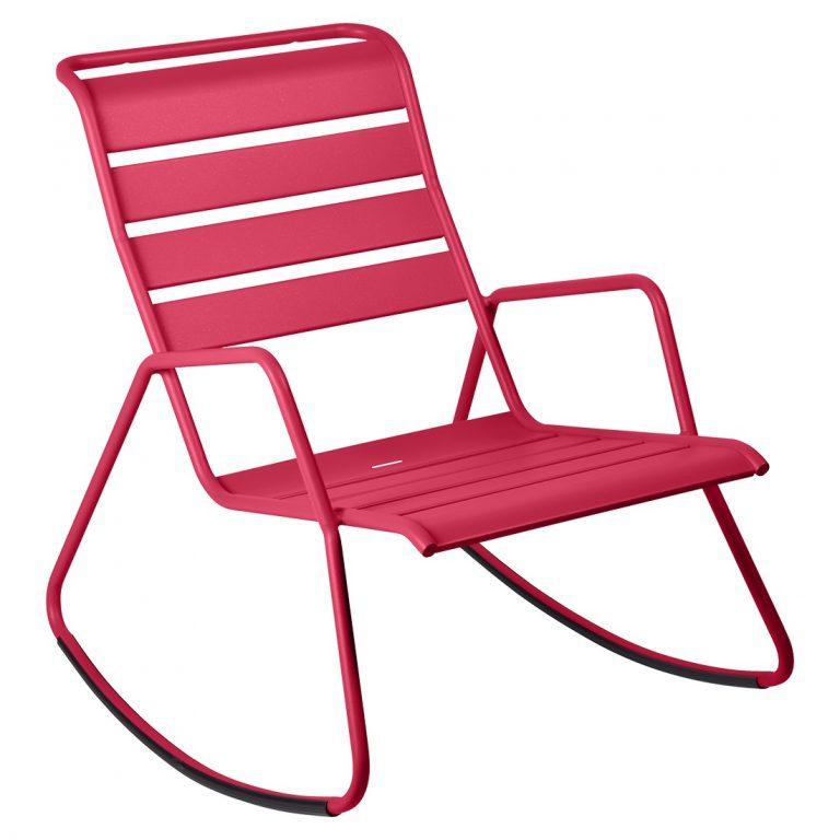 Monceau rocking chair in Pink Praline