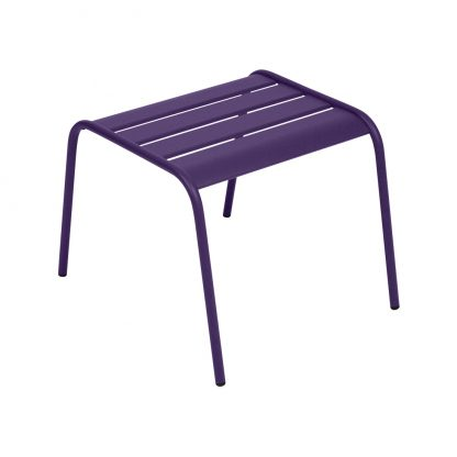 Monceau footrest in Aubergine