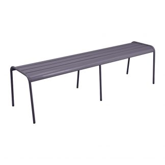 Monceau bench XL in Plum