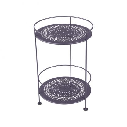 Guinguette side table in Plum