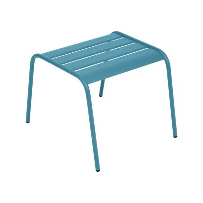 Monceau footrest in Turquoise