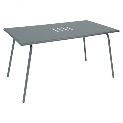 Monceau table in Storm Grey
