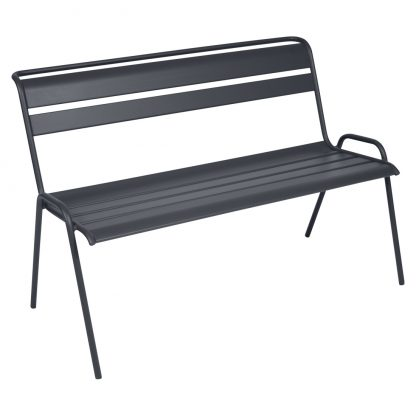 Monceau bench in Anthracite