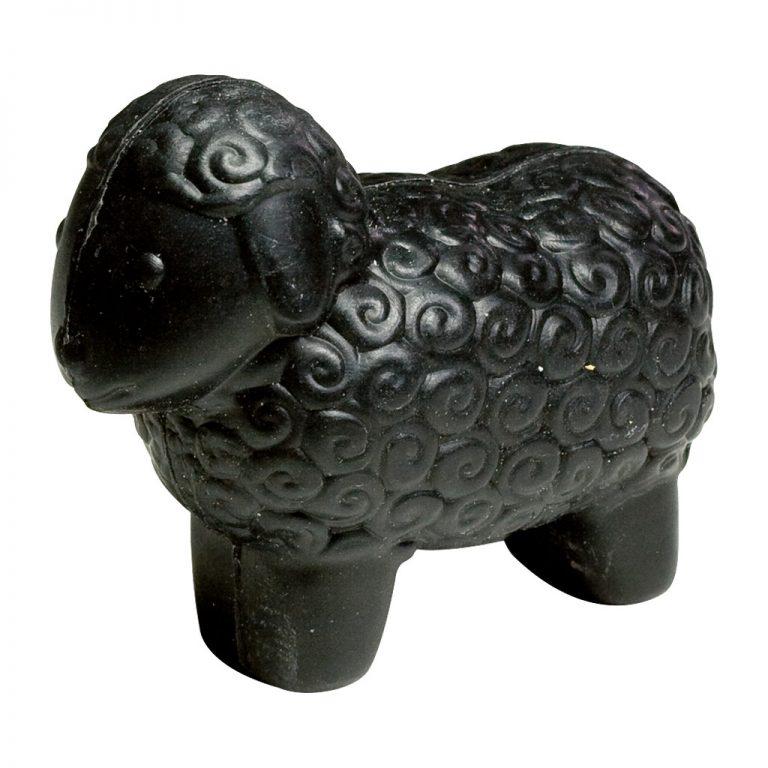 Sheep soap, large, black sheep