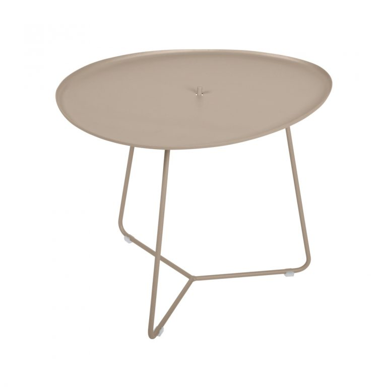 Cocotte low table in Nutmeg