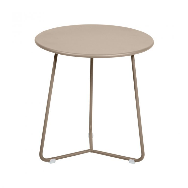 Cocotte footstool occasional table in Nutmeg