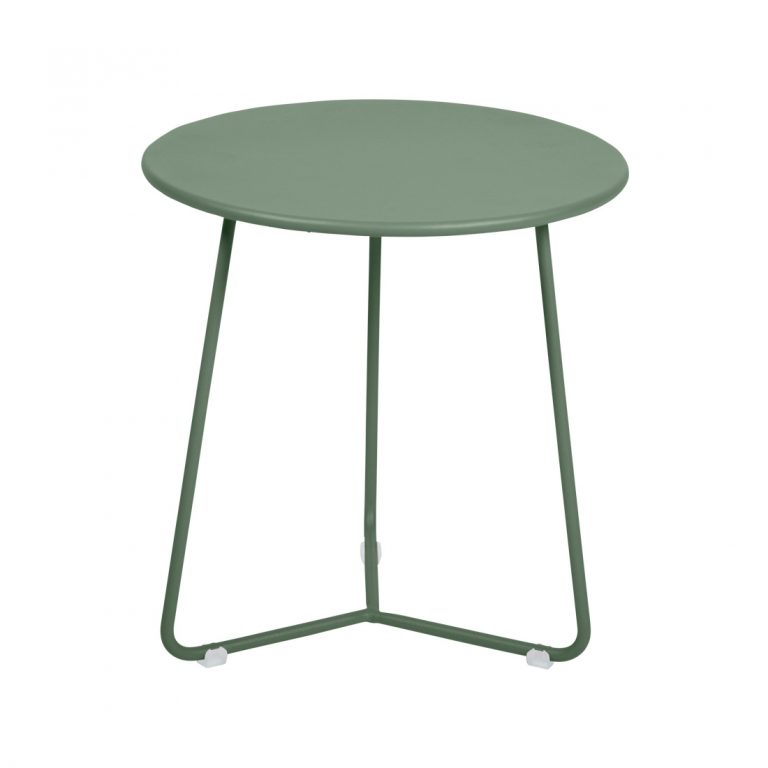Cocotte table or footstool in Cactus
