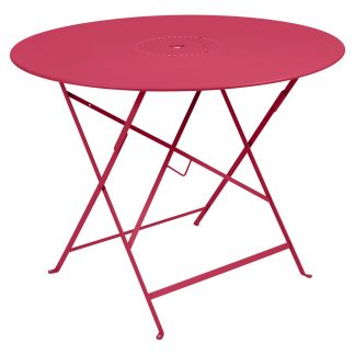 Floréal table 96 cm diameter in Pink Praline