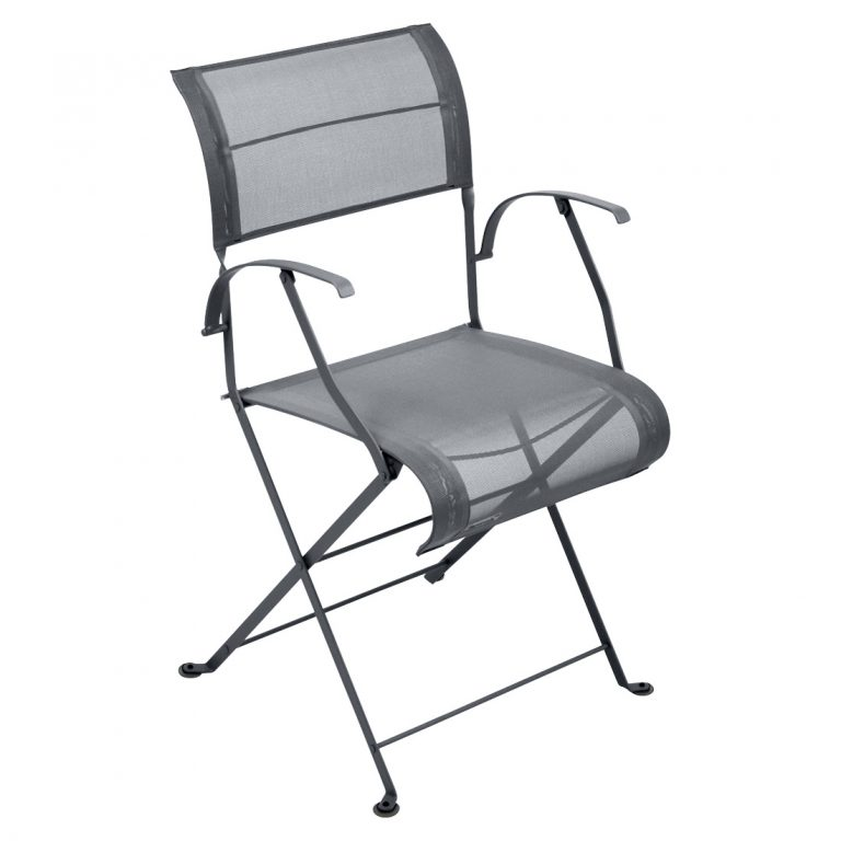 Dune armchair in Anthracite