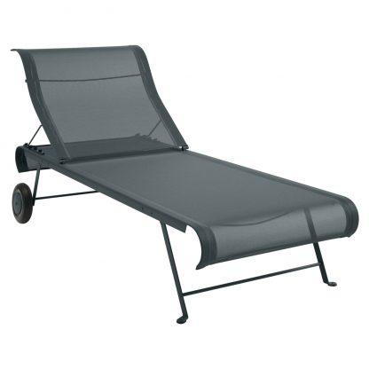 Dune sunlounger in Storm Grey