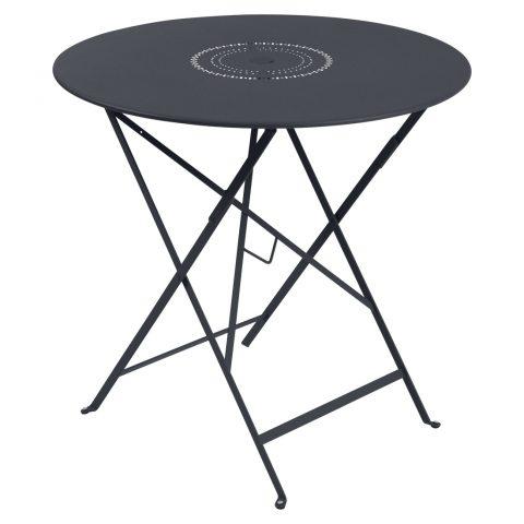Floréal table 77 cm diameter in Anthracite