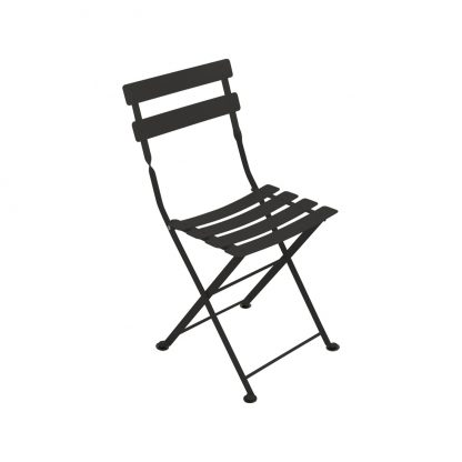 Tom Pouce chair in Liquorice