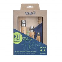 Nomad cooking kit by Opinel
