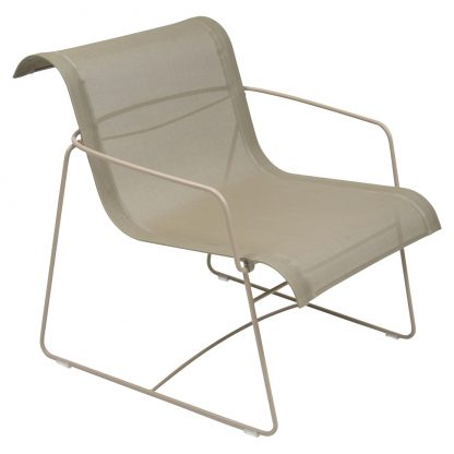 Ellipse armchair in Nutmeg