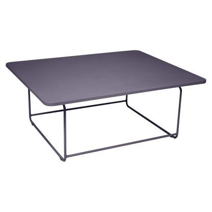 Ellipse low table in Plum