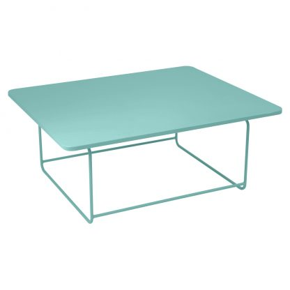 Ellipse low table in Lagoon Blue