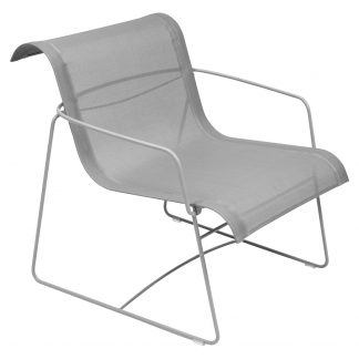 Ellipse armchair in Steel Grey