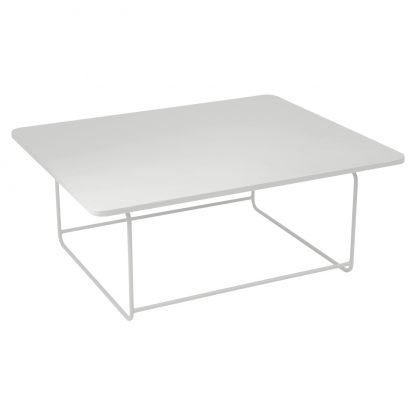 Ellipse low table in Steel Grey