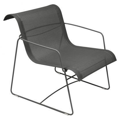 Ellipse armchair in Liquorice