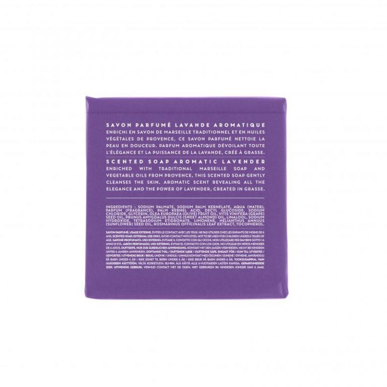Scented soap 100 gm - Lavender (back)