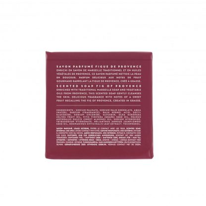 Scented soap 100 gm - Fig (back)