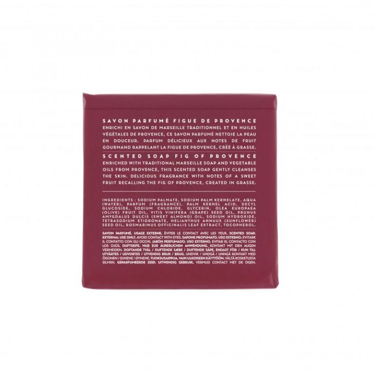 Scented soap 100 gm - Fig (back)