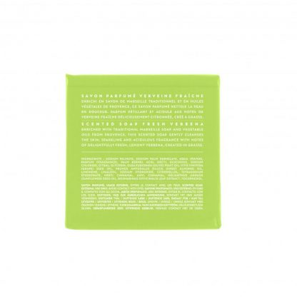 Scented soap 100 gm - Verbena (back)