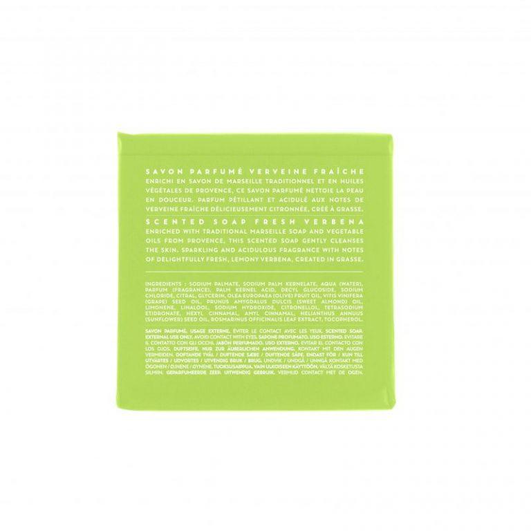 Scented soap 100 gm - Verbena (back)