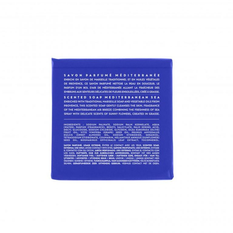 Scented soap 100 gm - Méditerranée (back)