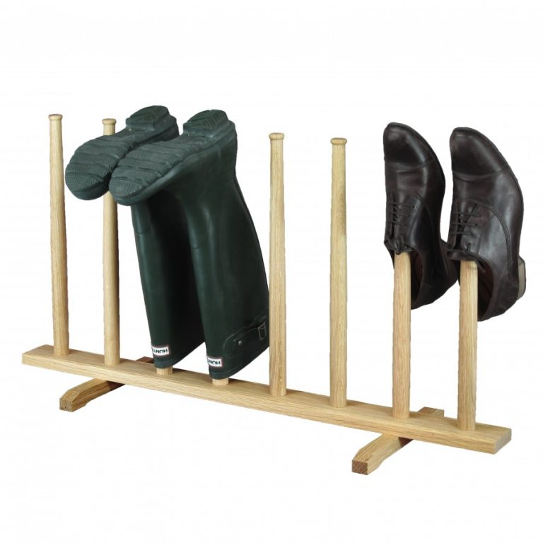 Wellington boot stand - four pair