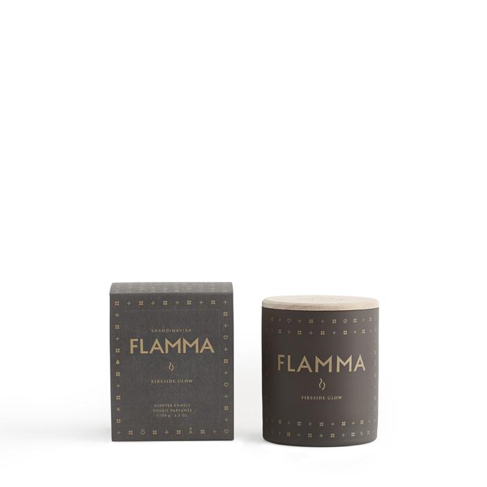 FLAMMA scented candle by Skandinavisk