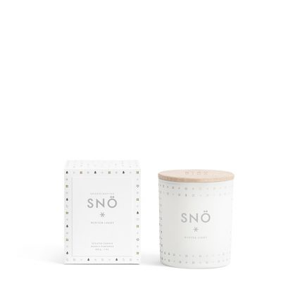 SNÖ scented candle by Skandinavisk