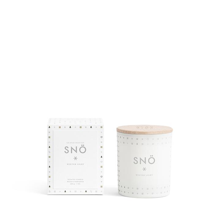 SNÖ scented candle by Skandinavisk