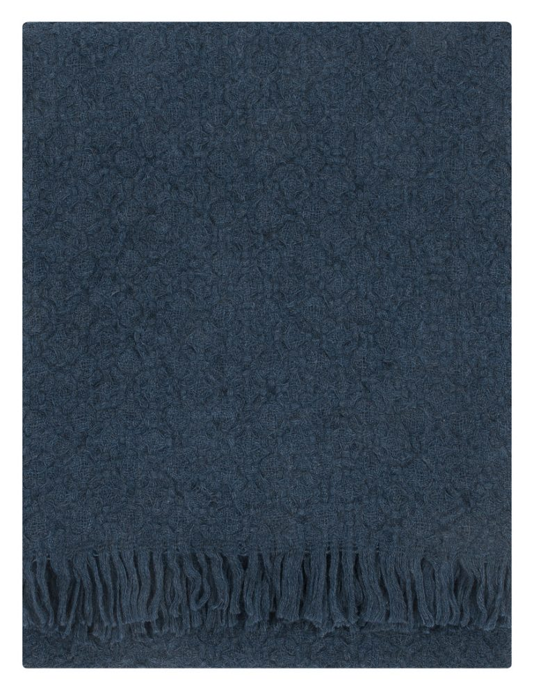 Corona Uni blanket in Rainy Blue