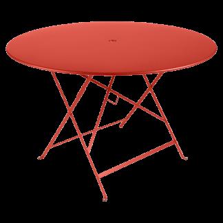 Bistro table, 117 cm diameter in Capucine