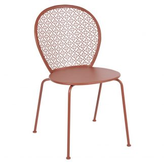 Lorette chair in Red Ochre