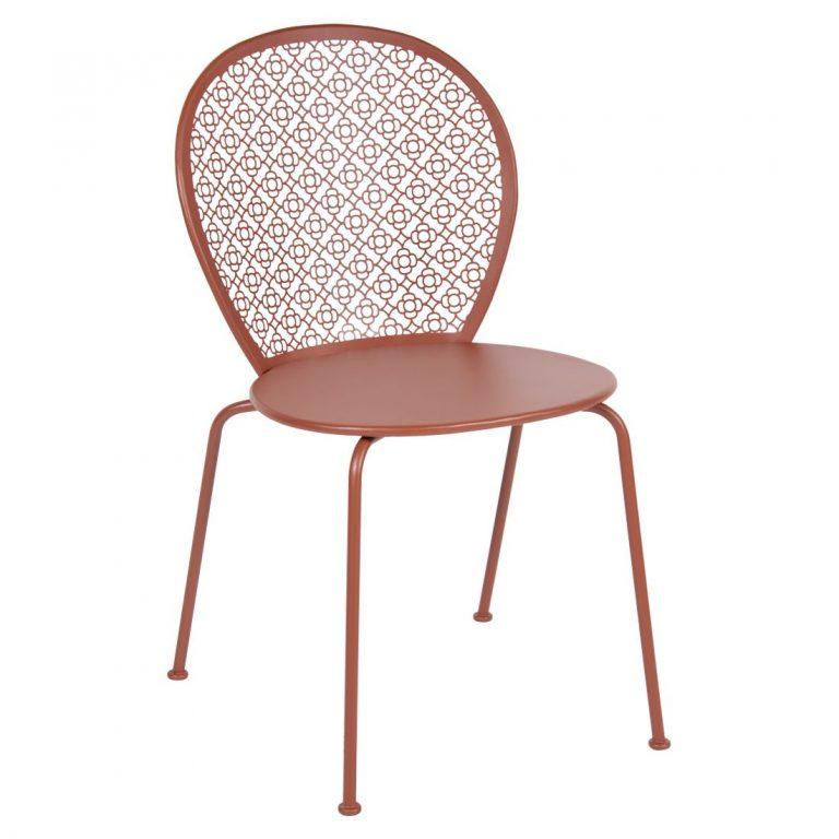 Lorette chair in Red Ochre