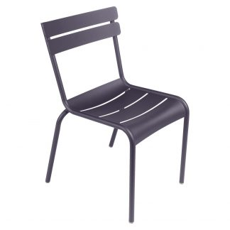 Luxembourg chair in Plum