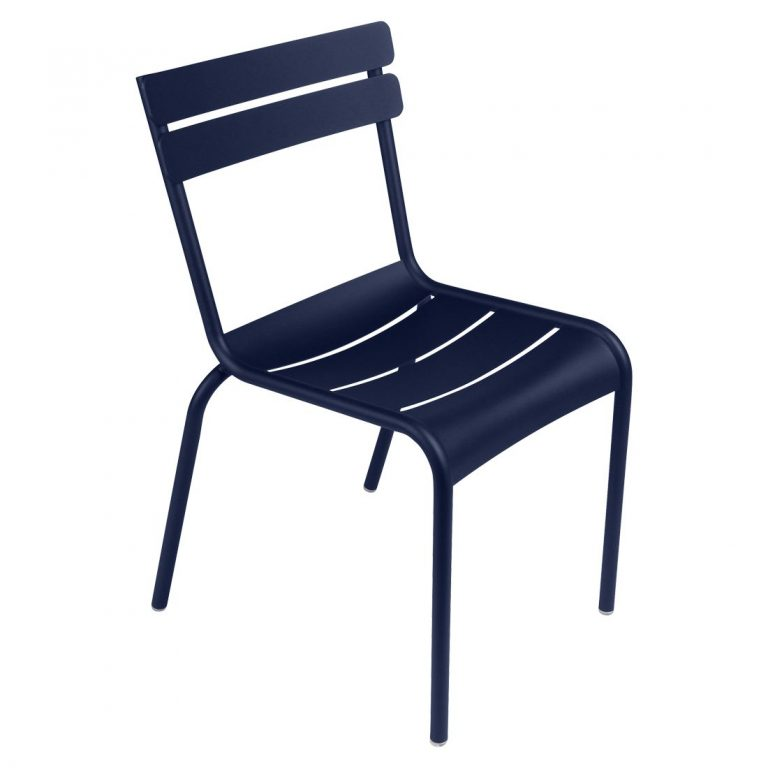 Luxembourg chair in Deep Blue