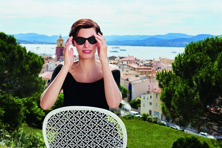 Lorette chair in Cotton White