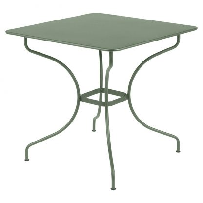 Square Opéra table in Cactus