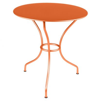 Opéra small round table in Carrot