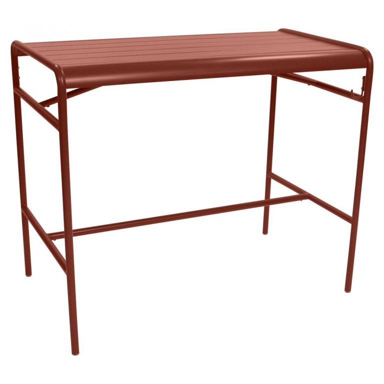 Luxembourg high table in Red Ochre