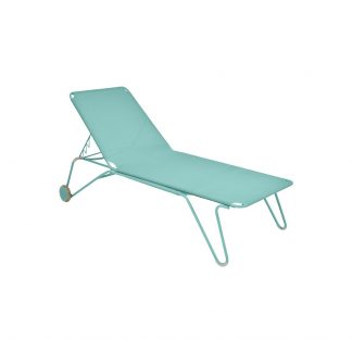 Harry sunlounger in Lagoon Blue
