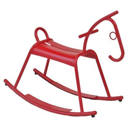 Adada rocking horse in Poppy