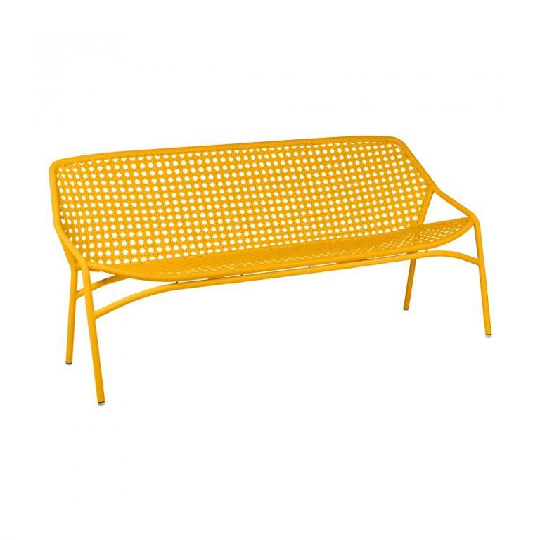 Croisette bench XL in Honey
